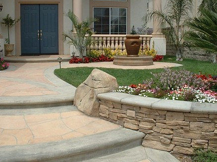Add color and lighting to your landscaping for curb appeal